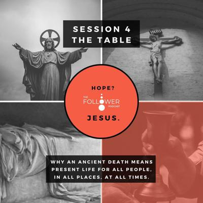 Cover art for Hope? Jesus 4. The Table
