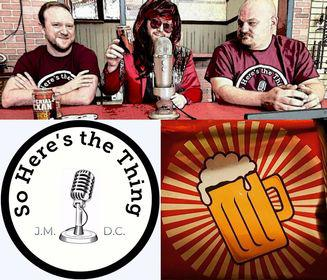 Cover art for So Heres The Thing Interview - Imperial Texan Double Red IPA