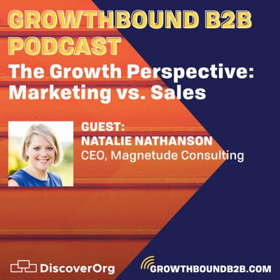 Cover art for The Growth Perspective: Marketing vs. Sales