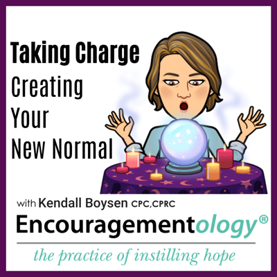 Cover art for Taking Charge, Creating Your New Normal