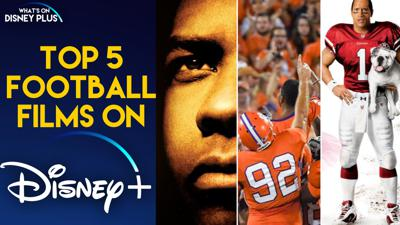 Cover art for Sports Analysts Talk Top 5 Football Films On Disney Plus
