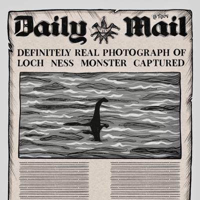 Cover art for A Monster In Loch Ness