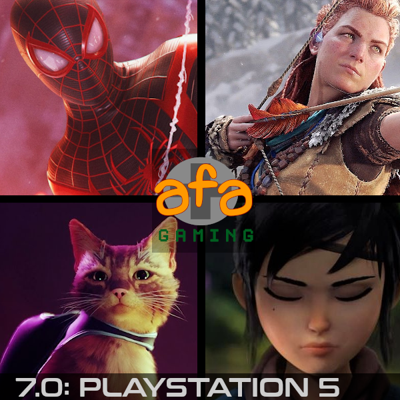 Cover art for The AFA Gaming Pod 7.0: Playstation 5 [or