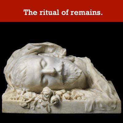 Cover art for The ritual of remains.