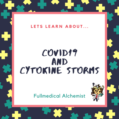 Cover art for [Short Episode 1] Let's learn about COVID19 and Cytokine Storms