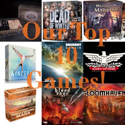 Cover art for Episode 28: Our Top 10