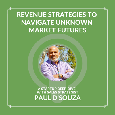 Cover art for Revenue Strategies to Navigate Unknown Market Futures with Paul D'Souza