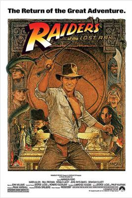 Cover art for Raiders of the Lost Ark (1981) W/ Andy McElfresh