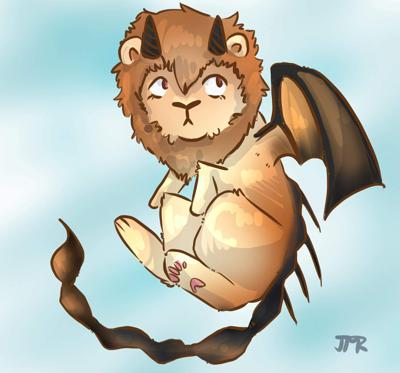 Cover art for Manticore