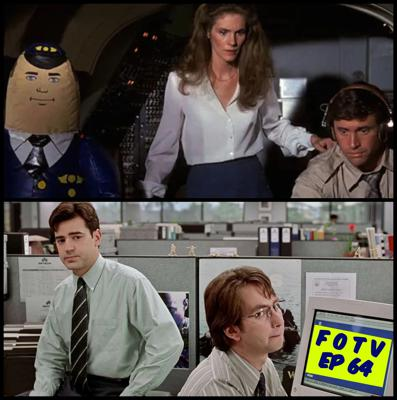 Cover art for Ep 64 - Airplane! and Office Space