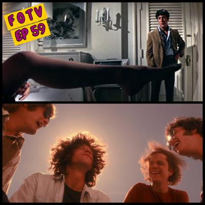 "Cover art for Ep 59: The Chronicles of the Lost and Horny in LA:  ""The Doors"" and ""The Graduate"""