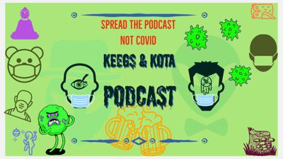 Cover art for The Keegs & Kota Podcast Featuring B Episode #46