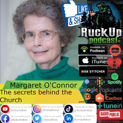Cover art for Margaret O'Connor The secrets behind the Church