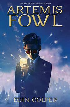 Cover art for Artemis Fowl by Eoin Colfer book to movie adaptation