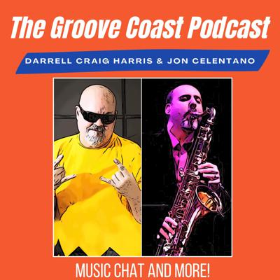 Cover art for Award winning Jazz vocalist, pianist, composer-producer and journalist ++,  Fiona Ross chats with Jon and Darrel on this first episode of season 2 of the Groove Coast Podcast