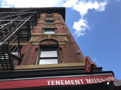 """""""I don't like that man. I must get to know him better."""" New York's Tenement Museum"""