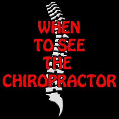 Cover art for When to see a Chiropractor EP16
