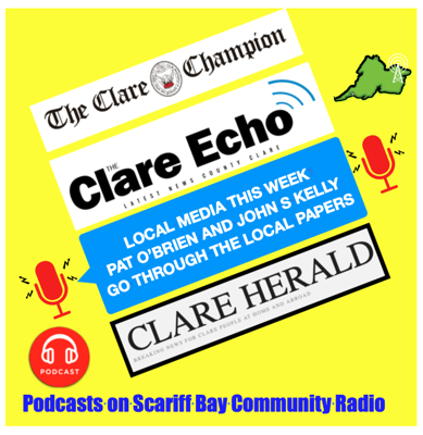 Cover art for Local media this week 26th July 2020