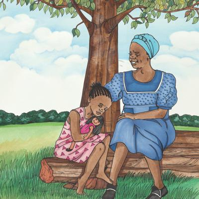 Cover art for Thembi and the Singing Tree