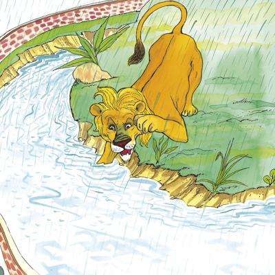 Cover art for Lion on the Loose