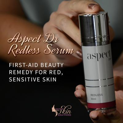 Cover art for Aspect Dr Redless Serum — First-aid beauty remedy for red, sensitive skin