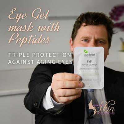 Cover art for Eye Gel Patches with Peptides — Triple protection against aging eyes