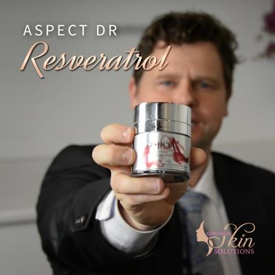Cover art for Aspect Dr Resveratrol — Rewind  time on dry, aging skin