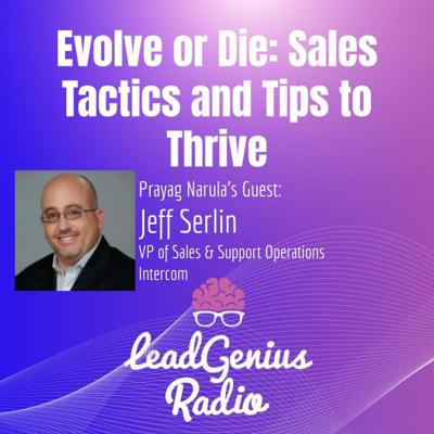 Cover art for Evolve or Die: Sales Tactics and Tips to Thrive