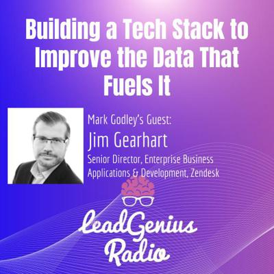 Cover art for Jim Gearhart on Building a Tech Stack to Improve the Data That Fuels It