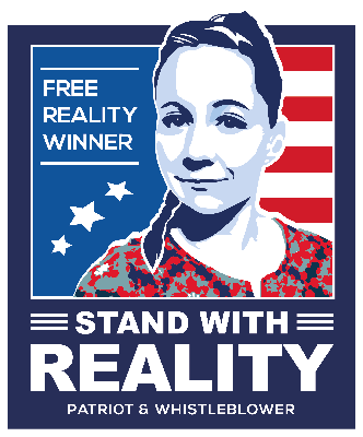 Cover art for Reality Winner has Covid-19