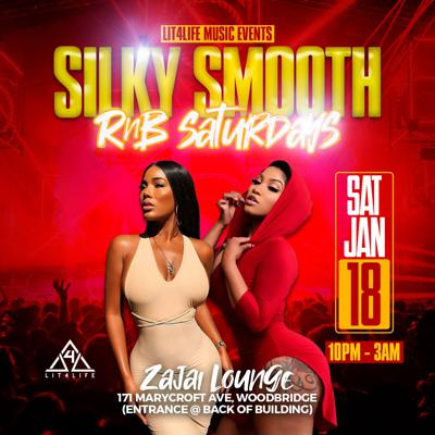 Cover art for Silky Smooth R&B Saturdays - January 18th, 2020