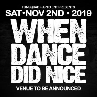 Cover art for WHEN DANCE DID NICE