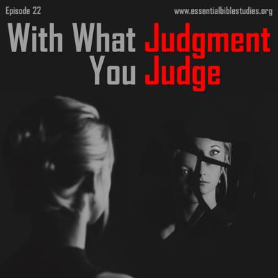 Cover art for With What Judgment You Judge