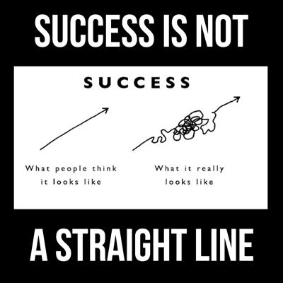 Cover art for Success is Not a Straight Line - Next Level Podcast - Episode 108
