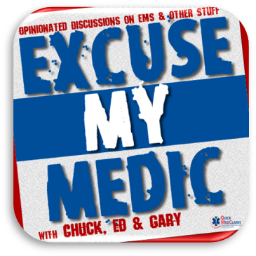Cover art for Episode #124: Excuse My Medic Pod Magazine (April 17, 2020)