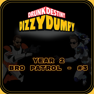 Cover art for Bro Patrol #3 - Year 2