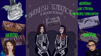 Cover art for Ghoulish Tendencies Podcast on Mystic Moon Cafe