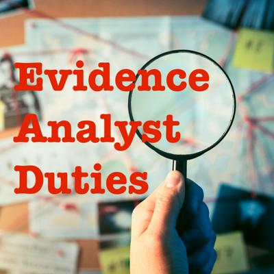 Cover art for Evidence Analyst Duties