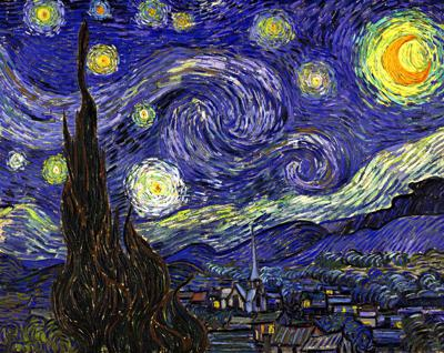 Cover art for The Starry Night