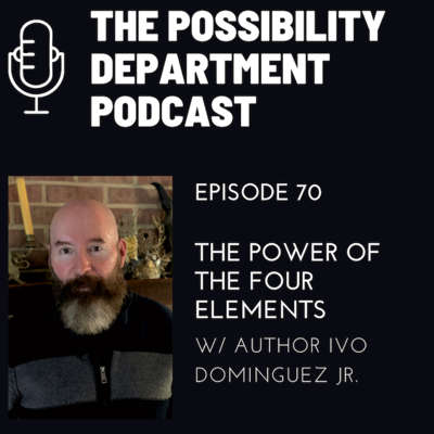 Cover art for The Power of The Four Elements w/ Author Ivo Dominguez Jr.