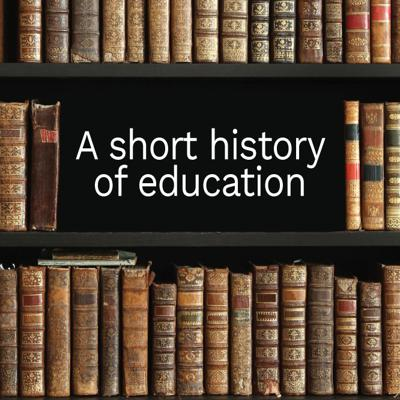 Cover art for A short history of education