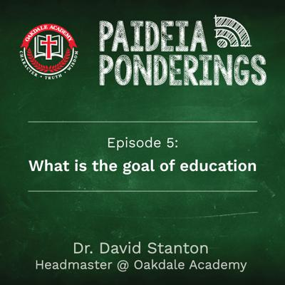 Cover art for What is the goal of education
