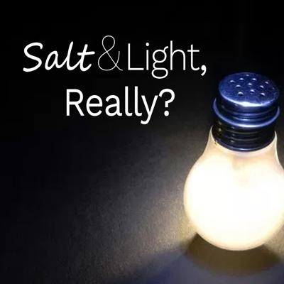 Cover art for Salt and Light, Really?