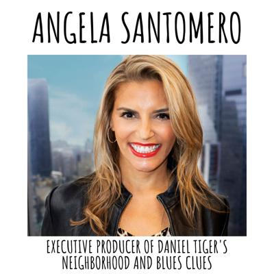 Cover art for Angela Santomero- Executive Producer of Blues Clues and Daniel Tiger's Neighborhood!