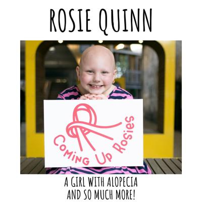 Cover art for Rosie Quinn Makes Face Masks and Teaches kids to Embrace Alopecia!