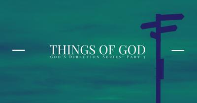Cover art for Things of God