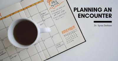 Cover art for Planning and Encountering God