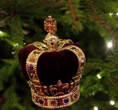 Cover art for It's Beginning to Look a Lot Like a Royal Christmas