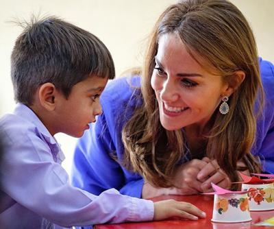 Cover art for The Duke and Duchess of Cambridge visit Pakistan