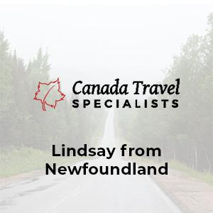 Cover art for Canada Travel Specialists - Newfoundland with Lindsay